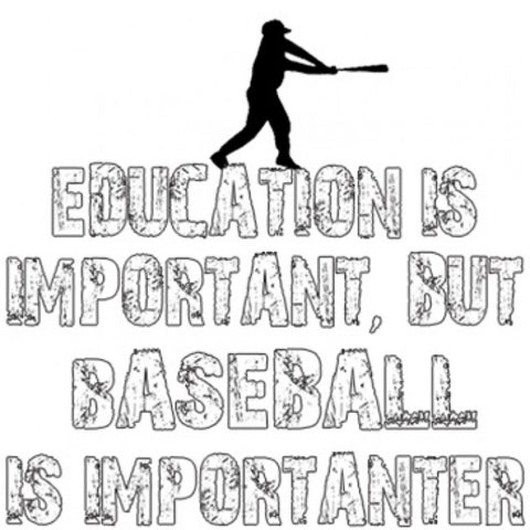 """Baseball Is Importanter"" T-Shirt"