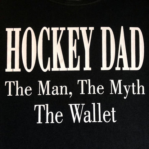 """Hockey Dad - The Wallet"" T-Shirt"