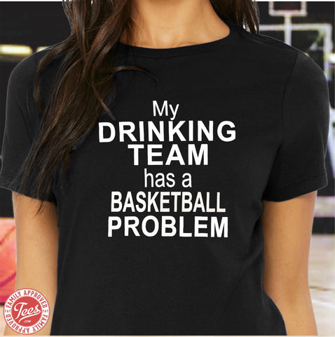 "Mom ""Basketball Problem"" T-Shirt"