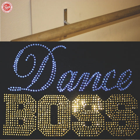 """Dance Boss"" Rhinestone T-Shirt"
