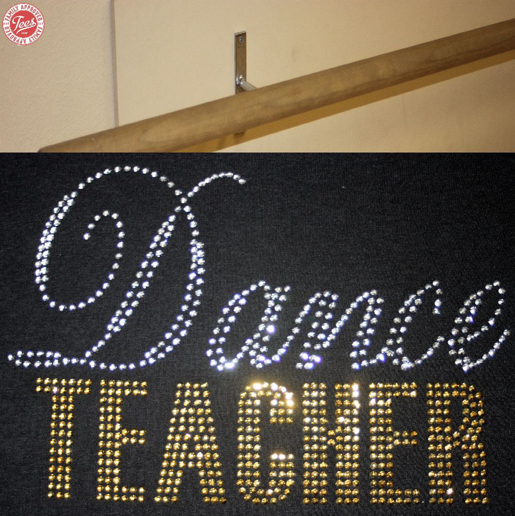 """Dance Teacher"" Rhinestone Design"
