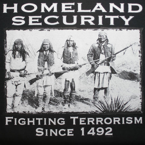 """Homeland Security"" T-Shirt"