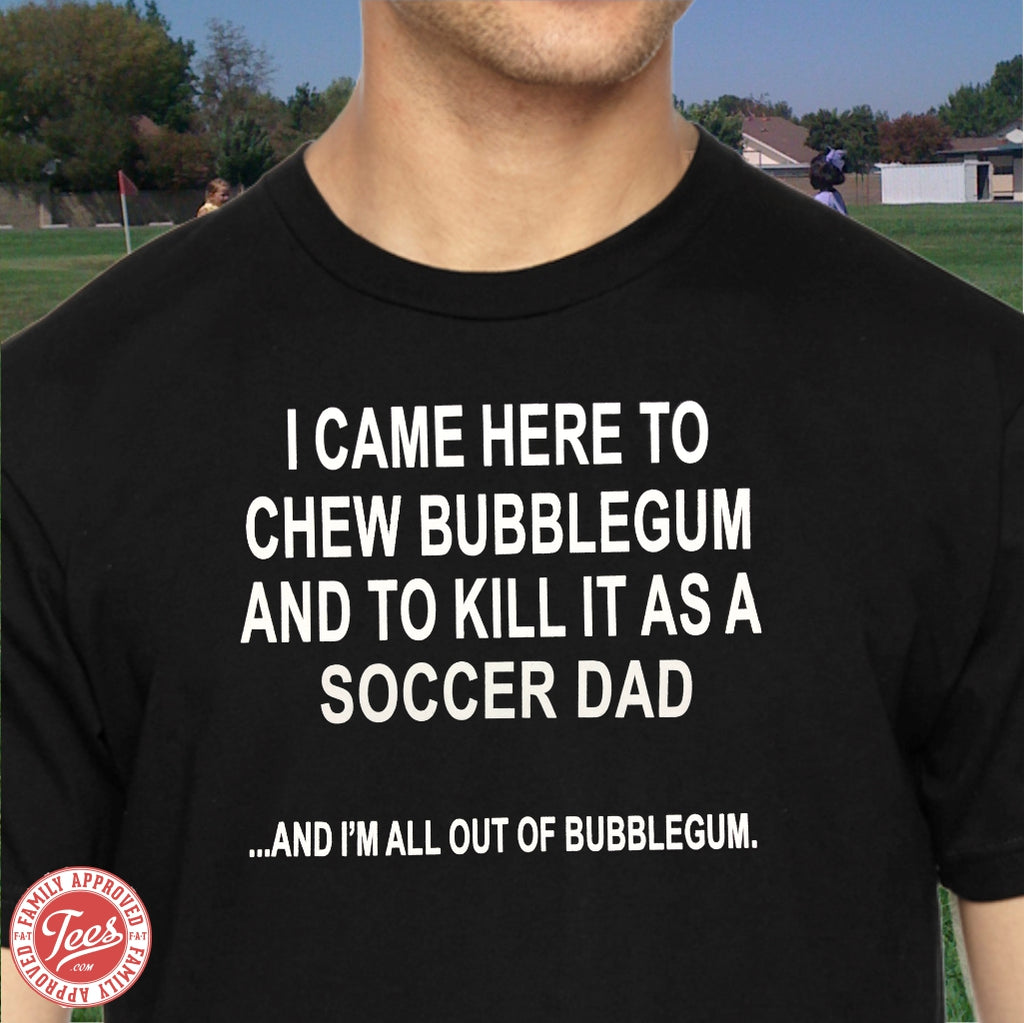 Soccer Dad Killin It T-shirt