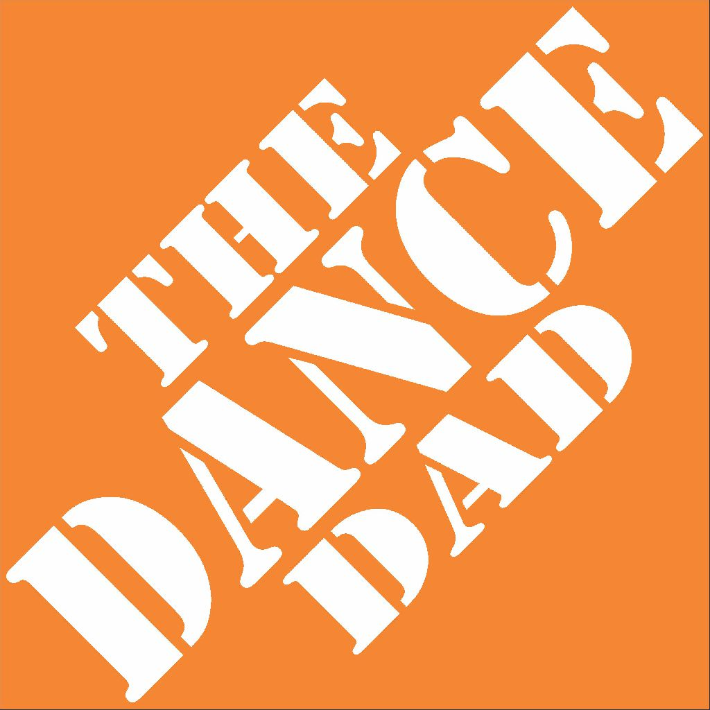 The Dance Dad white t-shirt