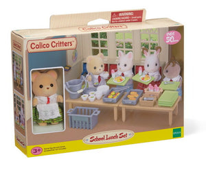 Calico Critter School Lunch Set