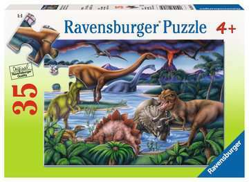Dinosaur Playground 35 pc