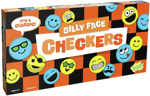 Silly Faces Checkers
