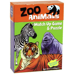 Zoo Animal Match Up