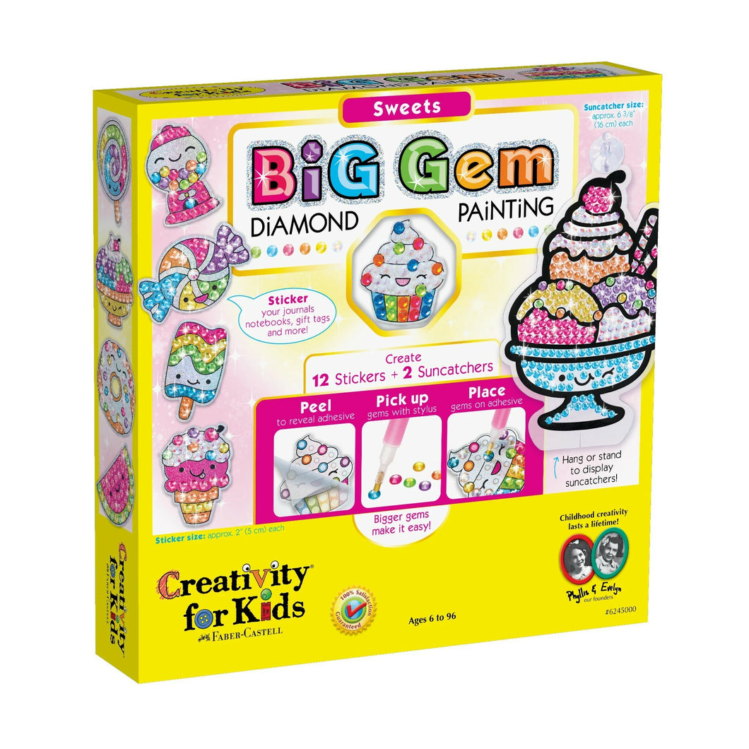 Big Gem Dimond Painting - Sweets