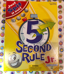 5 Second Rule Jr. Game