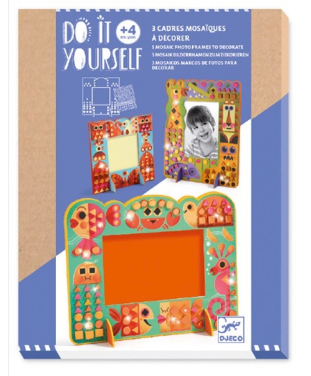DIY Mosaic Animal Frames kit