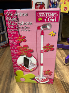 Pink Showtime Stage Mircophone