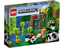 Load image into Gallery viewer, Lego Minecraft The Panda Nursery