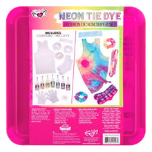 Load image into Gallery viewer, Fashion Angels Neon Tie Dye Fashion Kit