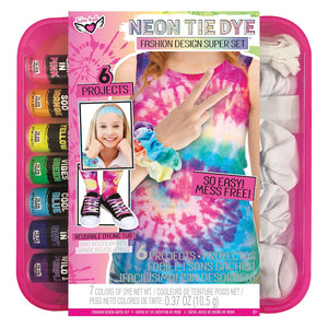 Fashion Angels Neon Tie Dye Fashion Kit