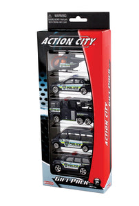 Police Department 5 Piece Vehicle Gift Pack