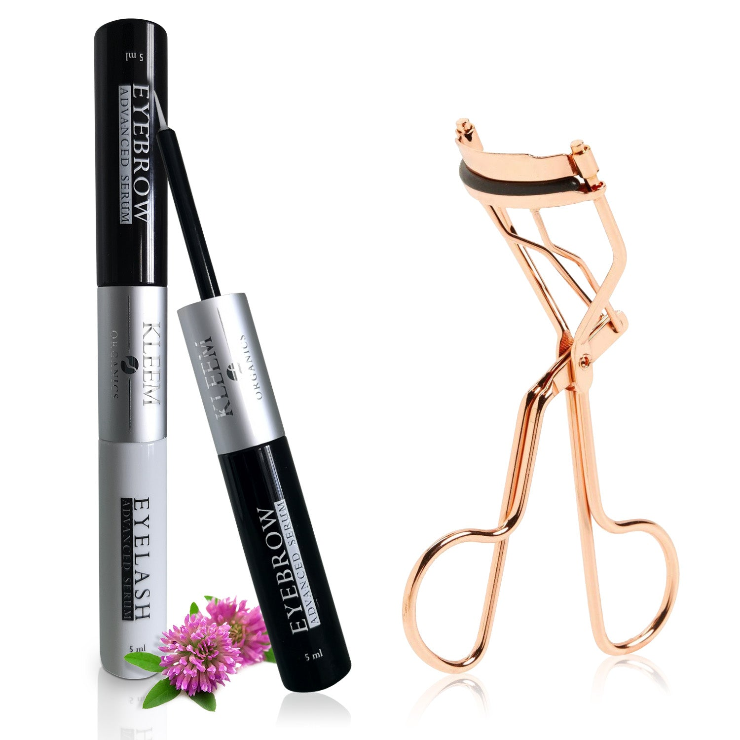 1 Eyelash Growth Serum + 1 Eyelash Curler Bundle
