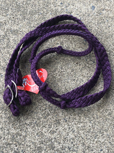 Dark Purple Barrel Reins