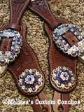 Purple Spur Straps