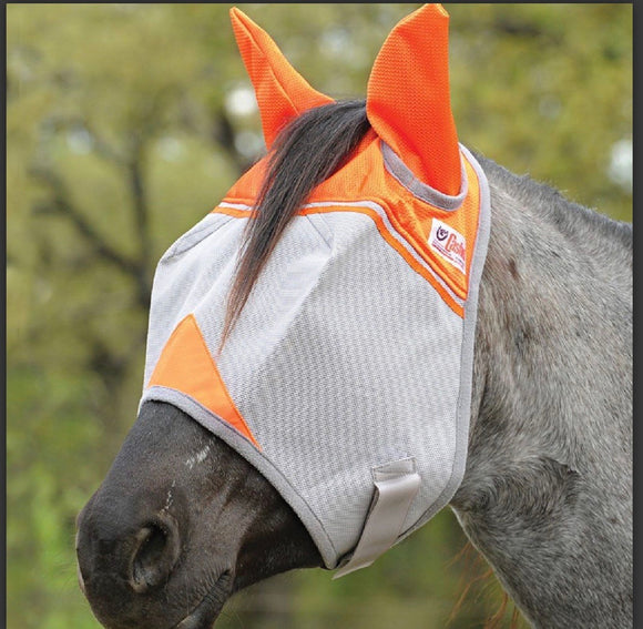 Cashel Fly Mask with ears - Animal Rescue