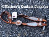 Silver One Ear Headstall