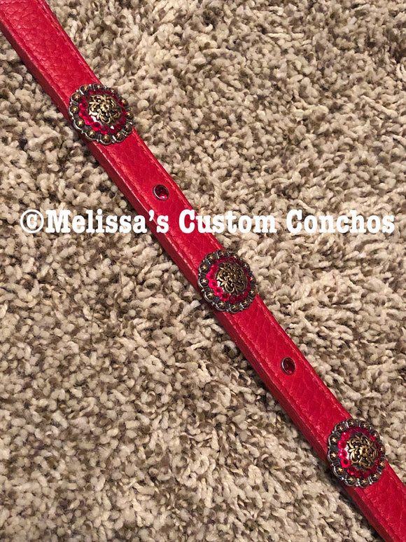 20 inch Red Collar