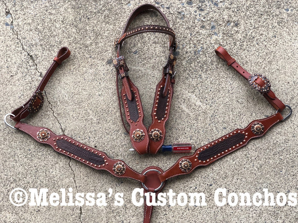 Brown Tack set