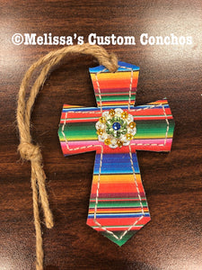 Serape Saddle Cross