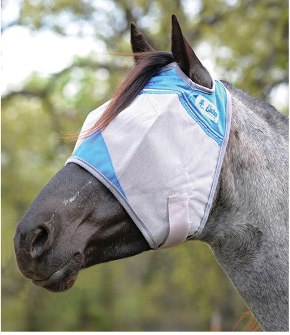 Cashel Fly Mask without ears - Military Support