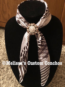 Black/white Scarf
