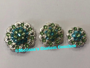 Light Turquoise and Peridot