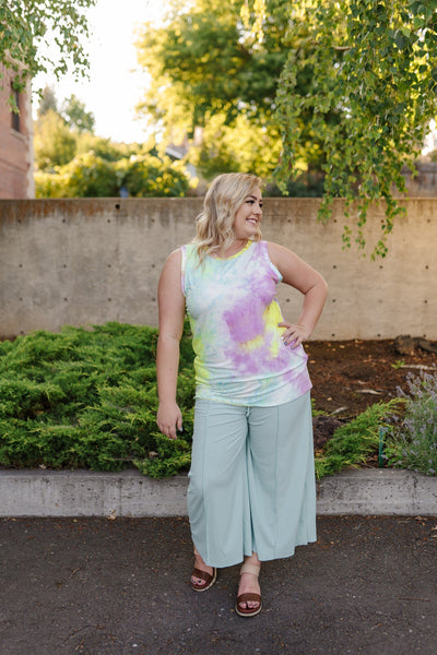 Blooming Lilac Sleeveless Top