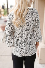 Lovin' that Loose Leopard Top
