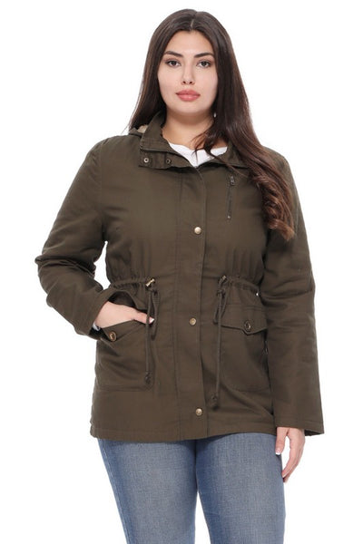 Lightweight Military Jacket - Olive