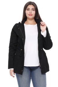 Lightweight Military Jacket - Black