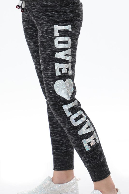 Love Love Hologram Girls Sweatpants