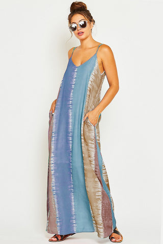 Tie Dye Vacation Dress