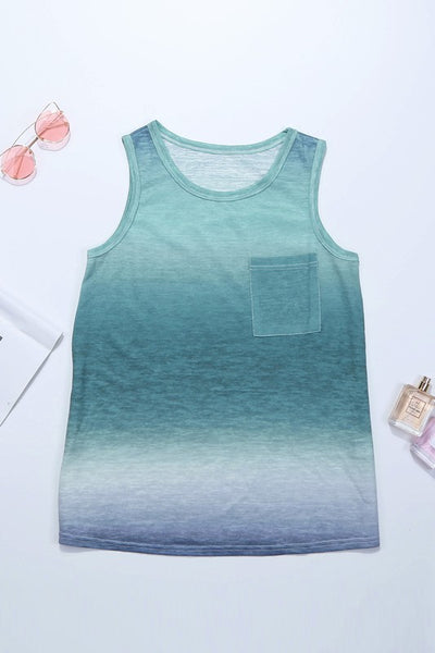 Aqualicious Ombre Tank Top
