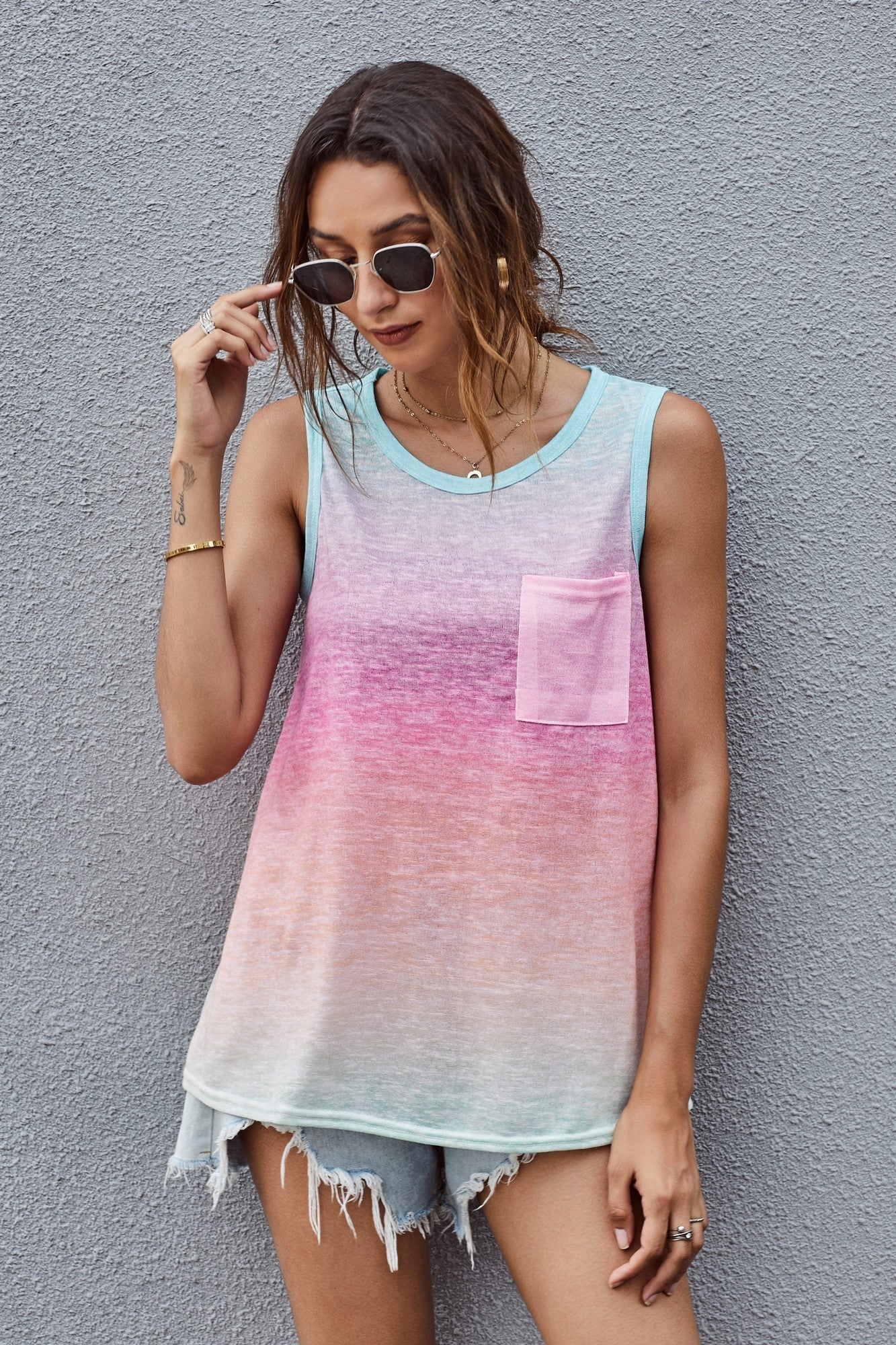 Over the Rainbow Tank Top