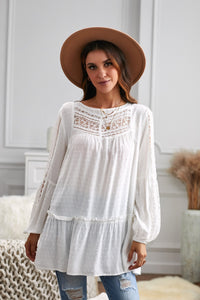 PREORDER French Fling Lace Tunic Top
