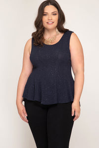 Show your Sparkle Tank Top - Navy