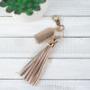 Tassel Keychain with Tag