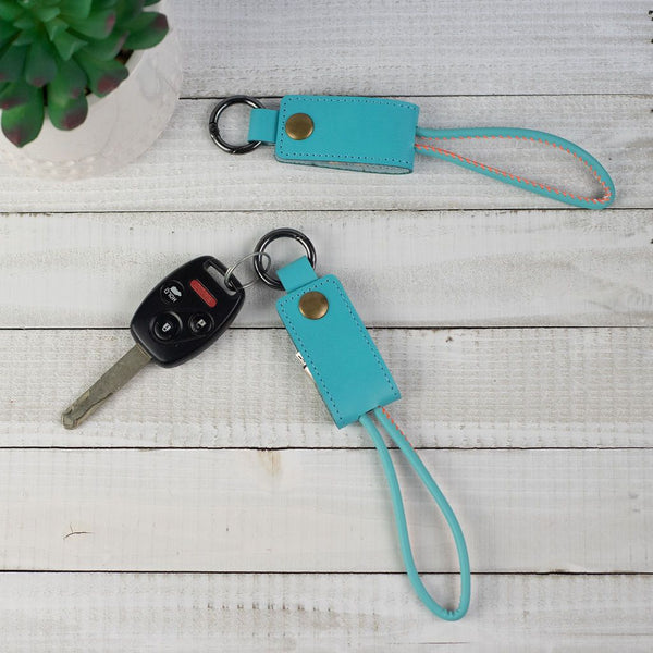 Keychain with iPhone Charging Cable