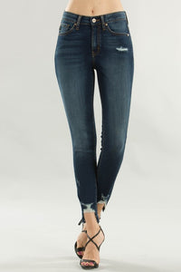 Distressed Ankle Skinny Jean - One left Size 30