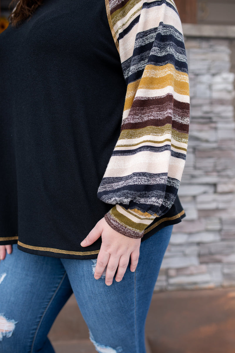 Crossing State Lines In Fall Stripes