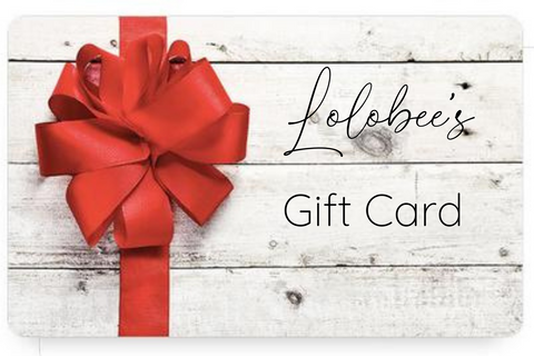 Lolobee's Digital Gift Card
