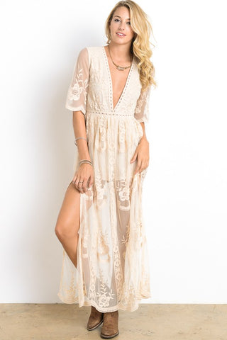 Romantic Lace Dress - MULTIPLE TONES