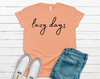 Lazy Days Graphic Tee  - Multiple Colors PREORDER