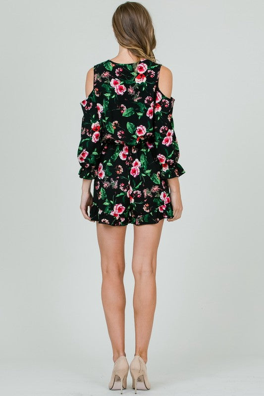 Floral My Heart Romper