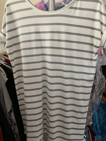 Criss Cross Stripe Top